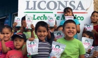 AUMENTA DEMANDA DE LECHE LICONSA EN SLP