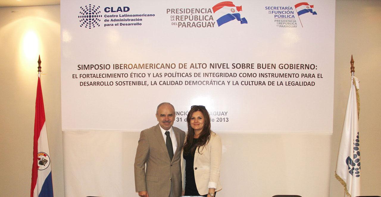 El Subsecretario y Encargado del Despacho de la SFP participó en simposio organizado por el CLAD, en Asunción, Paraguay.