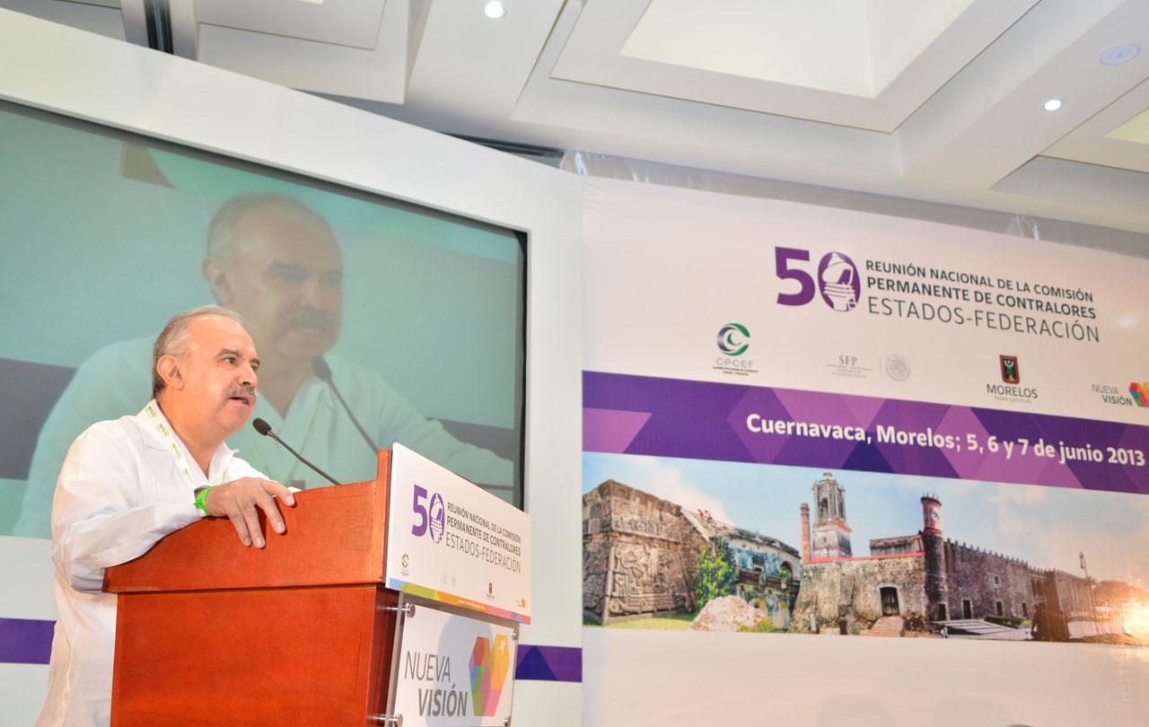 Inauguración de la 50 Reunión Nacional de la Comisión Permanente de Contralores Estados-Federación (CPCE-F).