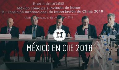 El pabellón de México en CIIE contará con la participación de los siguientes estados: Durango, Estado de México, Oaxaca, Puebla y Tamaulipas. Asimismo, contará con la participación de Bancomext y Rhino Valves como aliados.