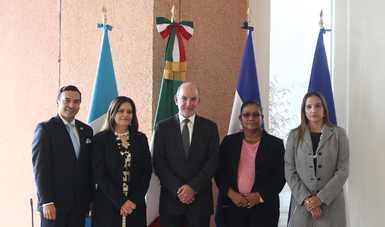 Reuni n de viceministros de relaciones exteriores de el salvador guatemala honduras y m xico for Relaciones exteriores honduras