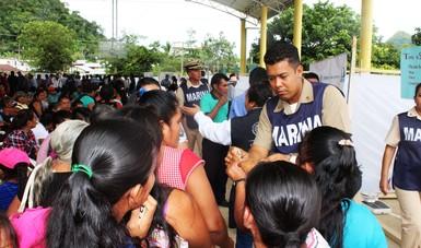 Concluye la Jornada Social Itinerante del mes de octubre en los municipios de Ocosingo, Marqués de Comillas y Tenejapa Maravilla, Chiapas