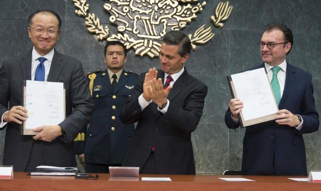 El Gobierno de la República y el Banco Mundial han establecido una sólida alianza para combatir de raíz la pobreza en México: Enrique Peña Nieto