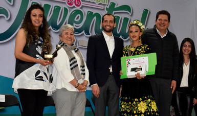 Hacen Entrega Del Premio Municipal De La Juventud A Jóvenes De Metepec