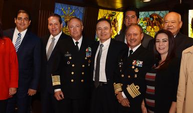 La Comisión de Marina del Senado de la República con el actual Secretario de la Marina – Armada de México y su próximo Titular acuerdan trabajo conjunto