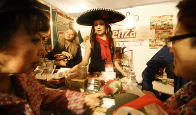 Stand de México en La Expoalimentaria Perú 2018