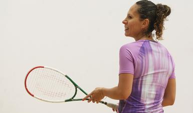 La squashista cumplió 20 años como campeona nacional y rompió récord de medallas en Juegos Centroamericanos