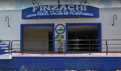 El edificio de la cooperativa FINZACHI