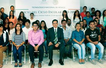 Más de 540 mil jóvenes iniciaron ciclo escolar en el Tecnológico Nacional de México