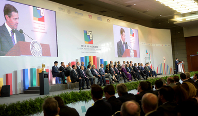 """A virtuous circle of development was created for the benefit of Mexican families. It is the best tool we have to end inequality and provide better opportunities for improvement for everyone"""": EPN"""