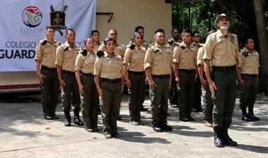 El objetivo es capacitar al 100 % el personal de la CONANP con los estándares internacionales más altos en la materia