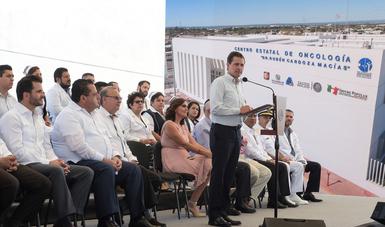 """""""Aquí en Baja California Sur todos los compromisos que hice en materia de salud están atendidos"""", señaló el Presidente de la República."""