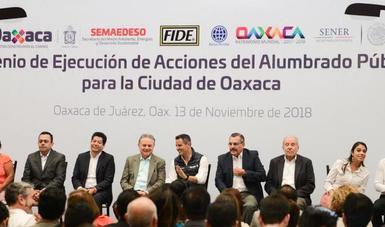 El nuevo alumbrado público en Oaxaca generará ahorros por 9.3 millones de pesos anuales: PJC.