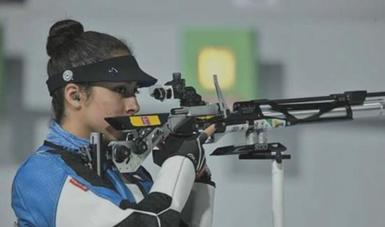 La deportista de tiro deportivo continuará sus entrenamientos en el CNAR para obtener su plaza a Juegos Panamericanos