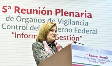 Anuncia Titular de SFP herramienta para informar sobre procedimientos de responsabilidad administrativa