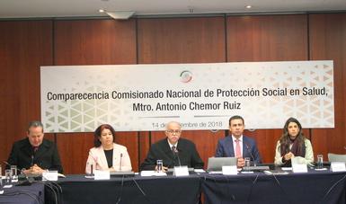Las reformas a la Ley General de Salud, impulsadas en 2014, han dado certidumbre al Sistema de Protección Social en Salud (SPSS), al transparentar el uso de los recursos públicos transferidos a las entidades federativas: Antonio Chemor Ruiz