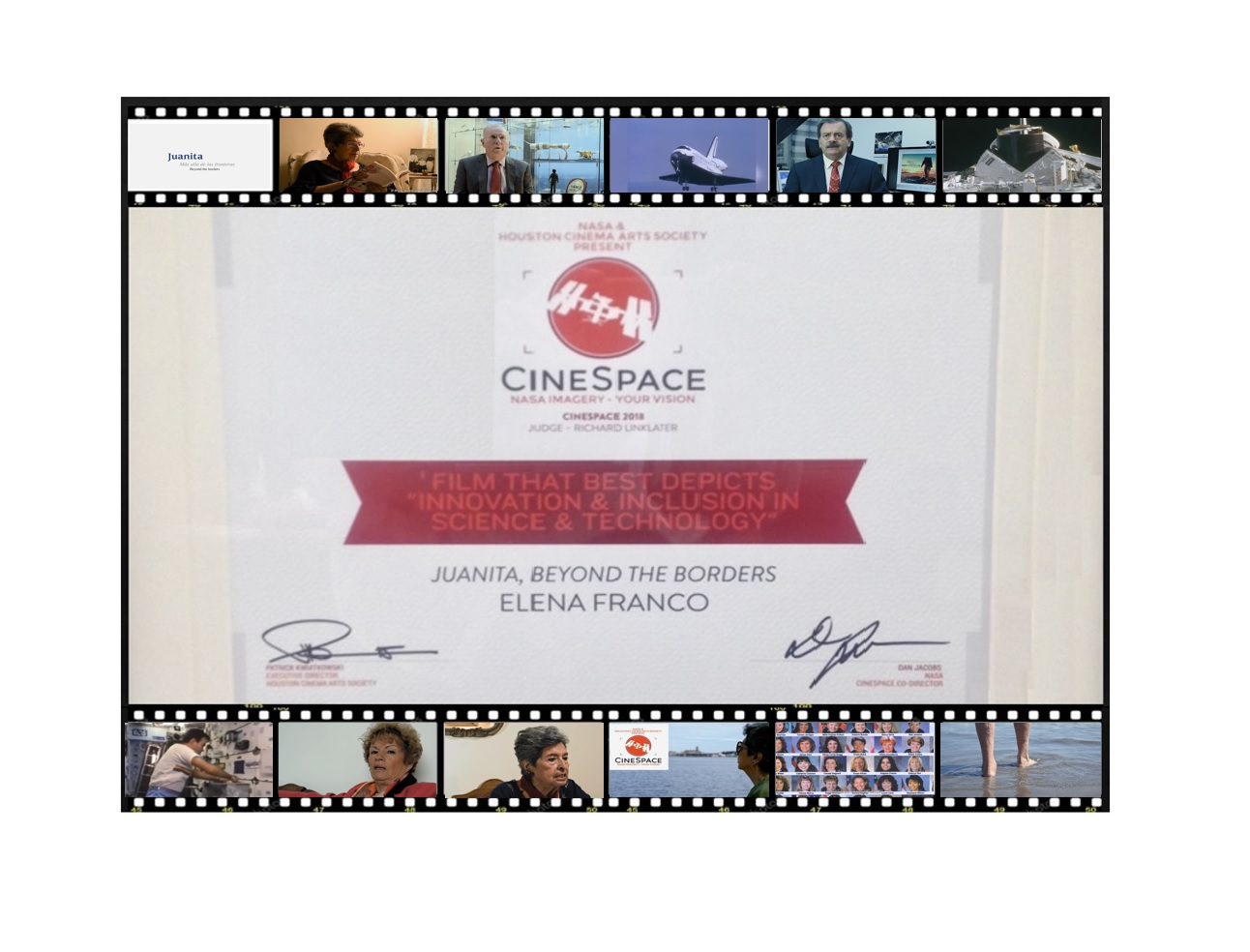Foto m xico  ganador en festival  cinespace  de nasa y houston cinema arts festival 2