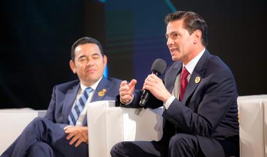 """""""De acuerdo con la OCDE México es el país que impulsó la agenda más agresiva de cambios estructurales, que nos permitieron abrir sectores que por décadas habían estado cerrados, como el sector energético"""": EPN"""