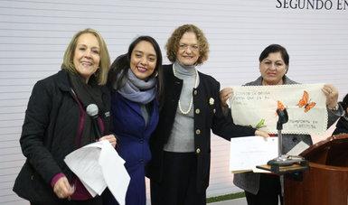 Ganadoras del concurso Erradicando la Violencia reciben reconocimiento por parte del Indesol
