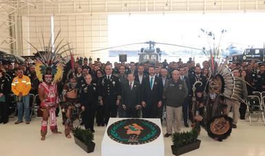 La CONANP y la PROFEPA capacitaron a 1,257 elementos de las diferentes divisiones de la Policía Federal con despligues en 24 Áreas Naturales Protegidas.