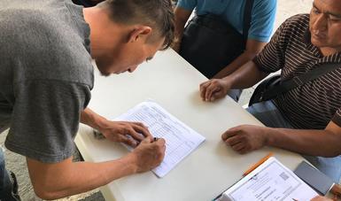 Cada una de las personas que se adhirió a dicho Programa, recibió de la SCT el pago de 2 mil 262 pesos por sus servicios, mismos que seguirán siendo requeridos en diversas actividades de beneficio de la comunidad de Tapachula