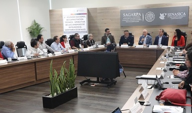 Reunión Nacional de Capacitación técnico-operativa