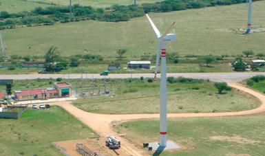 Sede Oaxaca del INEEL: Centro Regional de Tecnología Eólica (CERTE) en La Ventosa, Oaxaca.