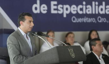 """""""La Ley General de Salud, impulsadas en 2014, han dado certidumbre al Sistema de Protección Social en Salud (SPSS), al transparentar el uso de los recursos públicos transferidos a las entidades federativas"""": Antonio Chemor Ruiz."""