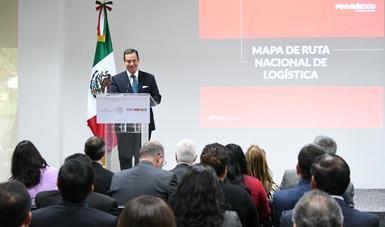 ProMéxico realiza lanzamiento del mapa de ruta nacional de logística