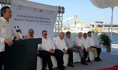 Supervisión de obras del Nuevo Puerto de Veracruz