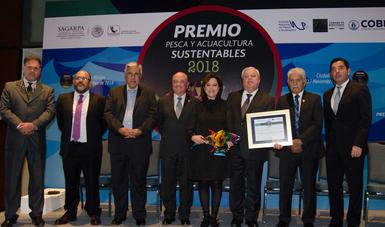 el Premio a la Pesca y Acuacultura Sustentables 2018