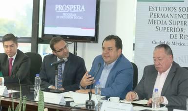 Jaime Gutiérrez Casas, durante la presentación de resultados