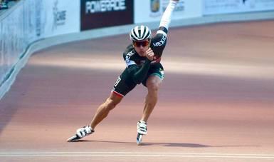 El patinador de velocidad se impuso a sus más fuertes rivales para conquistar el campeonato