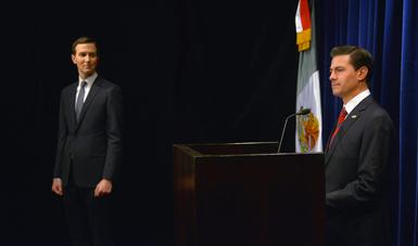 El Presidente Peña Nieto declaró que Jared Kushner fue un actor clave para encauzar la relación bilateral una vez que inició la nueva administración en Estados Unidos.
