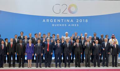 El Primer Mandatario destacó la importancia de que los países logren consensos para dar solución a los temas vitales para el mundo.