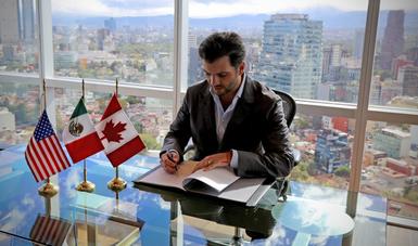 Lo anterior se dio a conocer en el marco de la firma del Tratado entre México, Estados Unidos y Canadá, (T-MEC) llevada a cabo el día de hoy, 30 de noviembre de 2018, en Argentina.