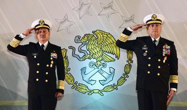 Entrega–Recepción de la Secretaría de Marina y del Mando de Armas de la Armada de México