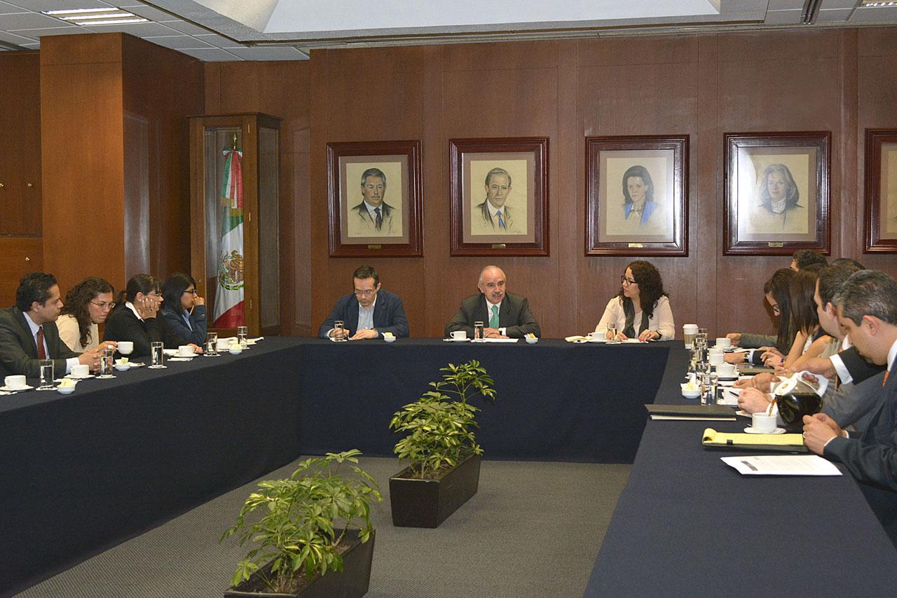 Reunión de trabajo preparatoria del Plan de Acción 2013-2015.