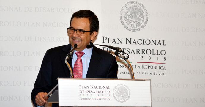 Inaugura el Secretario de Economía el Foro Estatal para el Diseño del Plan Nacional de Desarrollo