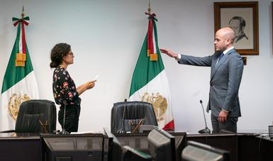 Toma de protesta al nuevo Procurador General de la Profedet, Emilio Zacarías Gálvez