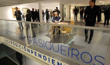 La exposición pendiente reúne una serie de obras que en 1973 se presentarían con el título de Orozco, Rivera, Siqueiros. Pintura Mexicana que, 42 años después se volvieron a reunir para celebrar el 25 aniversario del restablecimiento de relaciones diplomá