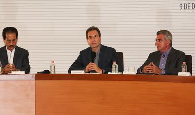 Foto del segretario Esteban Moctezuma
