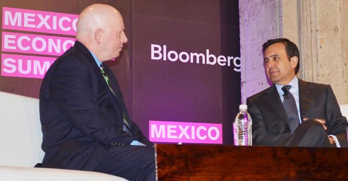 El Secretario Ildefonso Guajardo participa en Foro Económico organizado por Bloomberg