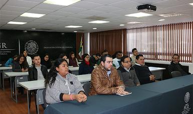PGR Coahula se capacita en Derechos Humanos