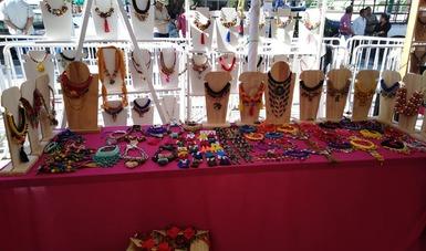 Exposición de artesanía.