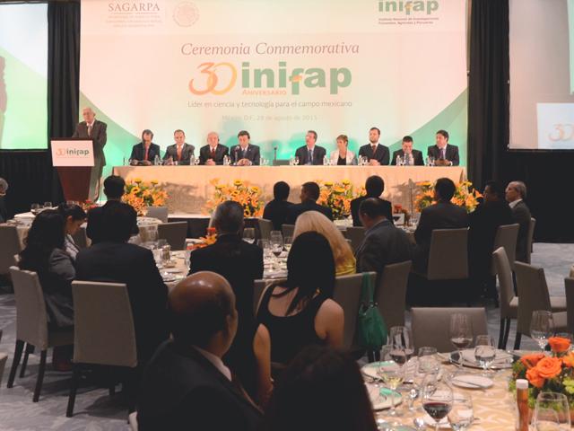 El Instituto Nacional de Investigaciones Forestales, Agrícolas y Pecuarias (INIFAP) celebró 30 años de llevar ciencia y tecnología al campo de México con actividades culturales, de divulgación y con la emisión de un billete de Lotería conmemorativo.
