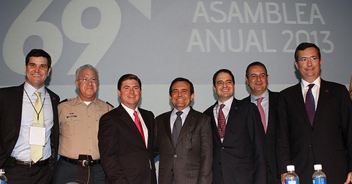 Asiste el Secretario de Economía a la Asamblea Anual de la CAINTRA