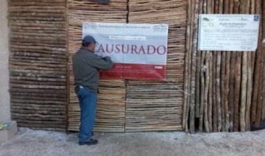 CLAUSURA PROFEPA DESARROLLO INMOBILIARIO EN TANKAH, MUNICIPIO DE TULUM, QUINTANA ROO