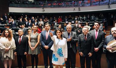 El Senado de la República ratificó a Margarita Ríos-Farjat como nueva Jefa del SAT