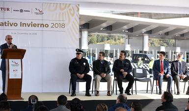 """Dan banderazo al """"Operativo Invierno 2018"""""""